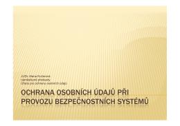 012_Ochrana osobních údajů při provozu bezpečnostních systémů