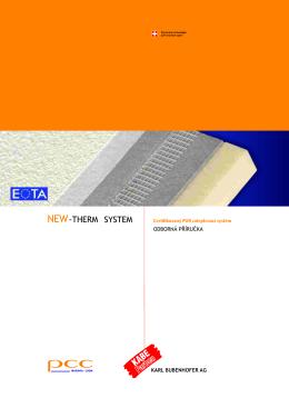 Odborná příručka New-Therm® system (PDF) - uzitecna
