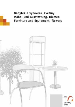 Nábytek a vybavení, květiny Möbel und Ausstattung, Blumen