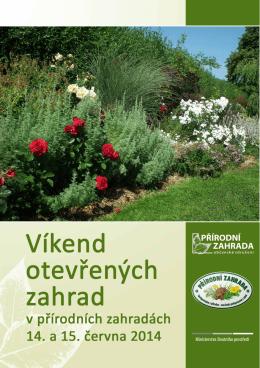 přírodních zahrad