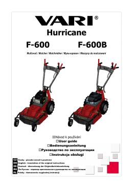 Hurricane F-600 F-600B