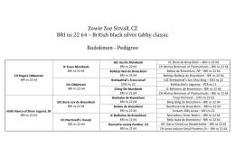 Zowie Zoe Sirvall, CZ BRI ns 22 64 – British black