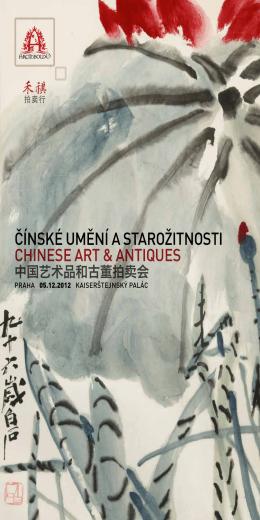 Čínské umění a starožitnosti Chinese art & antiques