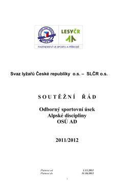 sřuadslčr - Svaz lyžařů ČR