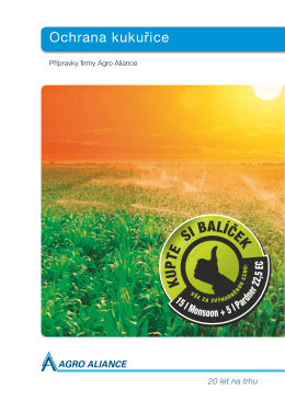 Ochrana kukuřice - Agro Aliance sro