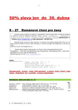 50% sleva až do 30. dubna