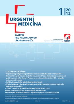 1/2012 - Urgentní medicína