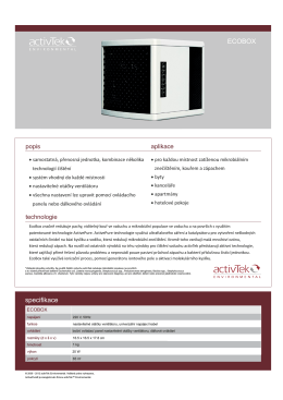 ecobox(AP50) - Čističky vzduchu .info