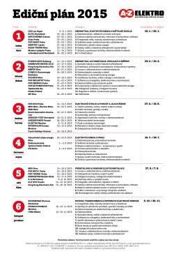 Ediční plán 2015