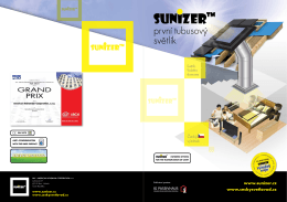 Informační metriál světlovody SUNIZER - ABC