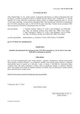 Usnesení 2 - OKdrazby.cz