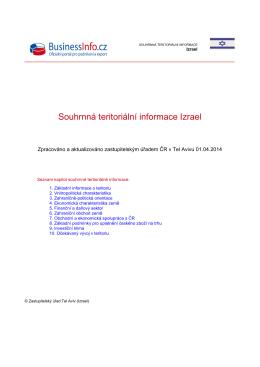 STI (aktualizace červen 2014) - Česko
