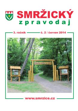Smržický zpravodaj 2014/2