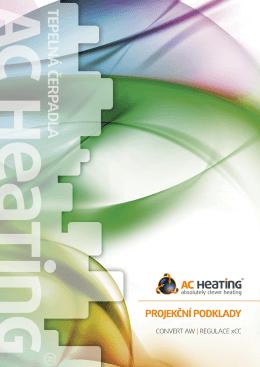 Projekční podklady - Tepelná čerpadla, tepelné čerpadlo AC Heating