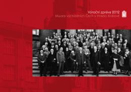 Výroční zpráva 2012 - Muzeum východních Čech v Hradci Králové