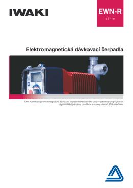 Elektromagnetická dávkovací čerpadla