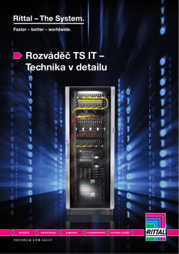Rozváděč TS IT – Technika v detailu