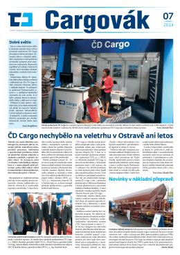 ČD Cargo nechybělo na veletrhu v Ostravě ani letos