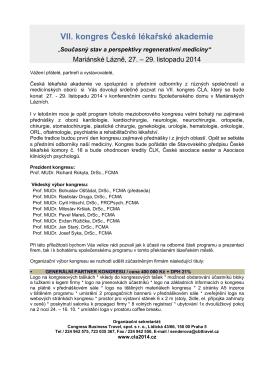 VII. kongres České lékařské akademie
