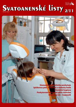 č. 2 vydáno v roce 2011 - Fakultní nemocnice u sv. Anny v Brně