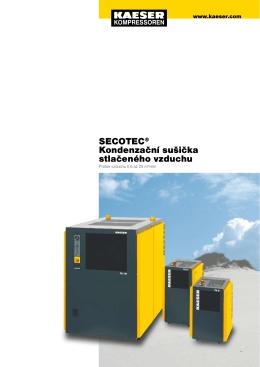 SECOTEC® Kondenzační sušička stlačeného vzduchu
