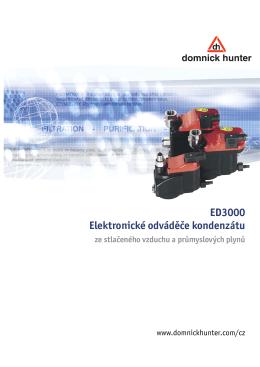 ED3000 Elektronické odváděče kondenzátu ze stlačeného vzduchu