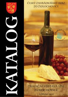 Židlochovice 2010 pdf - Výstava vín Velké Němčice