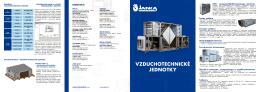 Brožura AHU_CZ - JANKA ENGINEERING sro
