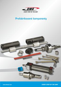 Prefabrikované komponenty