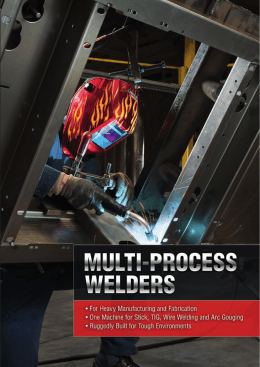 Equipment Catalogue – Multi-Process Welders