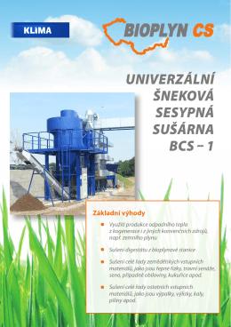 Sušení digestátu, biomasy a dalších produktů