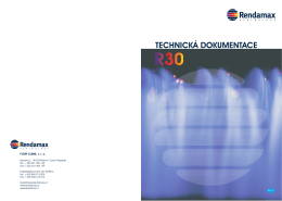 Technick dokumentace