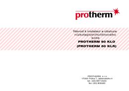 PROTHERM 80 KLR