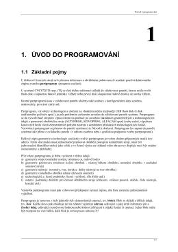 návod k programování