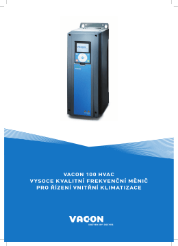 VACON 100 HVAC Brochure