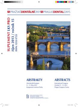 doprovodný program kongresu Pražské dentální dny