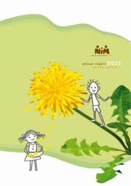 Výroční zpráva 2011 - Nadace Terezy Maxové