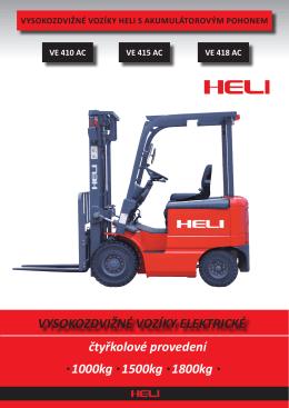 Technický list HELI VE415AC