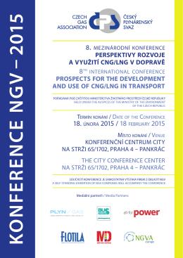 K O NFE R E NC E NG V – 2015