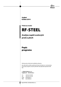 RF-STEEL - Dlubal Software