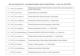 Střední škola - 5. Základní škola a mateřská škola Frýdek