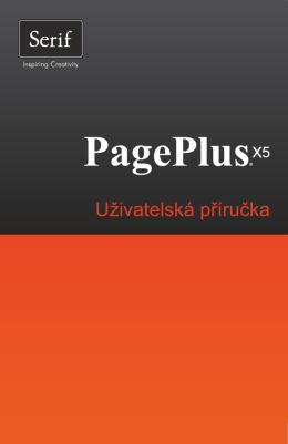 Uživatelská příručka PagePlus X5