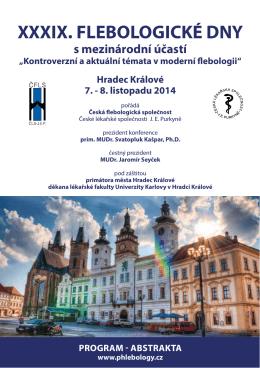 Program - Česká flebologická společnost