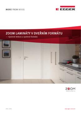 ZOOM Lamináty v Dveřním formátu (česky/PDF)