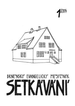 leden 2014 - Českobratrská církev evangelická sbor Brno I.
