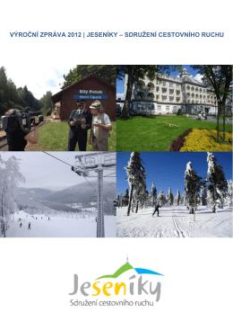 výroční zpráva 2012 | jeseníky – sdružení cestovního ruchu