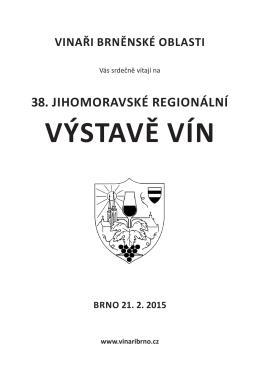 Katalog 38-výstavy.pdf - vinaři brněnske oblasti