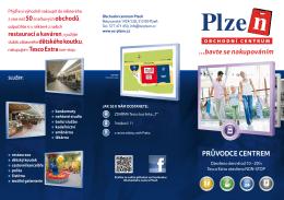 ...bavte se nakupováním - Obchodní centrum Plzeň