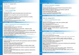 Program - Konference ERU