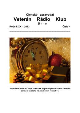4/2013 - Veterán Radio Klub